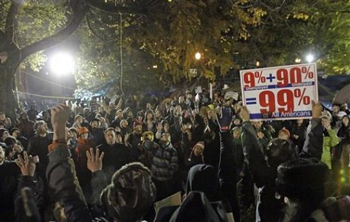 Occupy Portland movement mobilizes in face of threats by the city administration to evict them from a park that is the center of the anti-capitalist struggle in the city. Threats against the movement have escalated over the last few weeks. by Pan-African News Wire File Photos