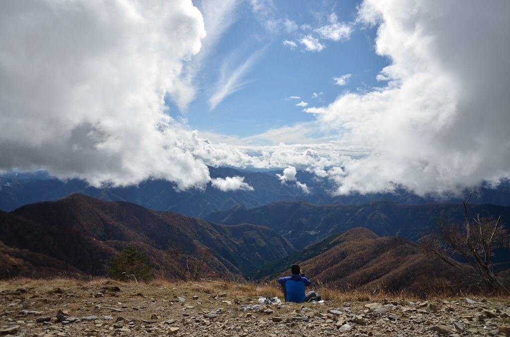 鷹ノ巣山からの眺め