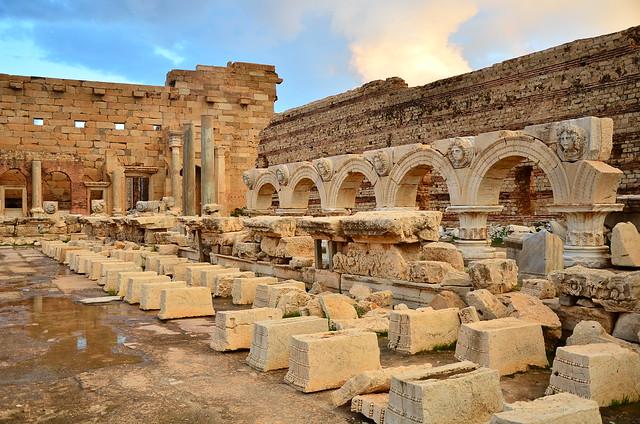 The Leptis Magna temple to Septimus Severus