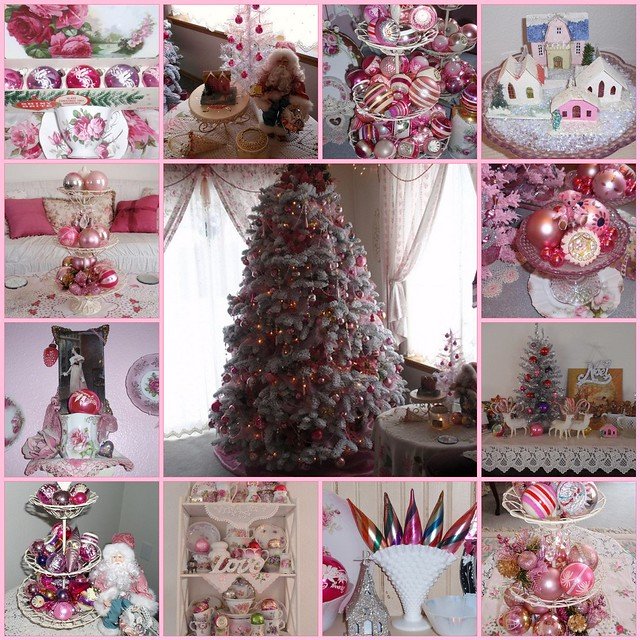 ~Vintage Pink Christmas~