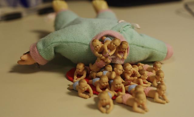 baby stuffed baby