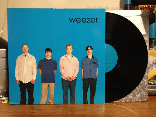 Weezer - S/T LP (The good one, not one of the 800 crappy S/T LPs they've released)