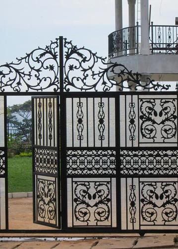 gate kigali rwanda by Danalynn C