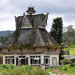 Berastagi - Old Colonial Dutch House with Karo Batak Roof