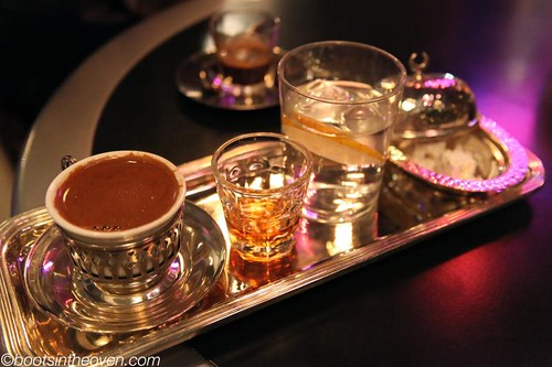 Traditional Turkish Coffee Service