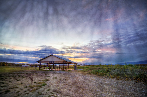 sunset sky texture alaska clouds twilight nikon gazebo hdr wasilla d5100