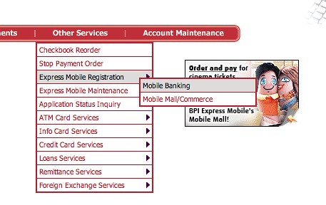 BPI Mobile Banking Registration