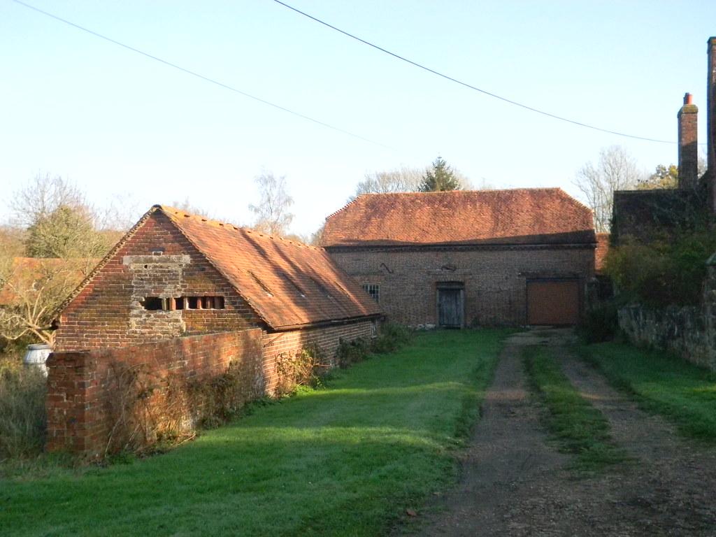 Old farm buildings Buxted Circular