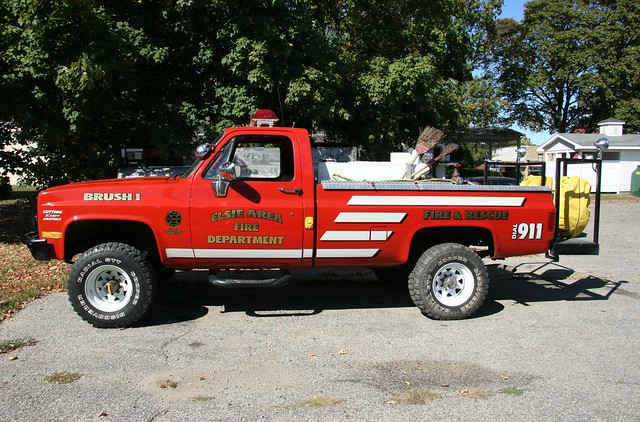 Chevrolet Brush Truck Elsie Mi Fire Dept Flickr Photo Sharing