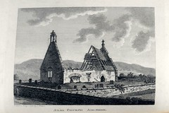 Grose's 'Antiquities of Scotland'. (London: 1789). Plate depicting the Alloway Kirk. RQ 3091-3092
