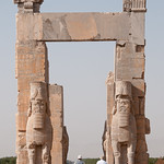 Gates of All Nations at Persepolis, Iran