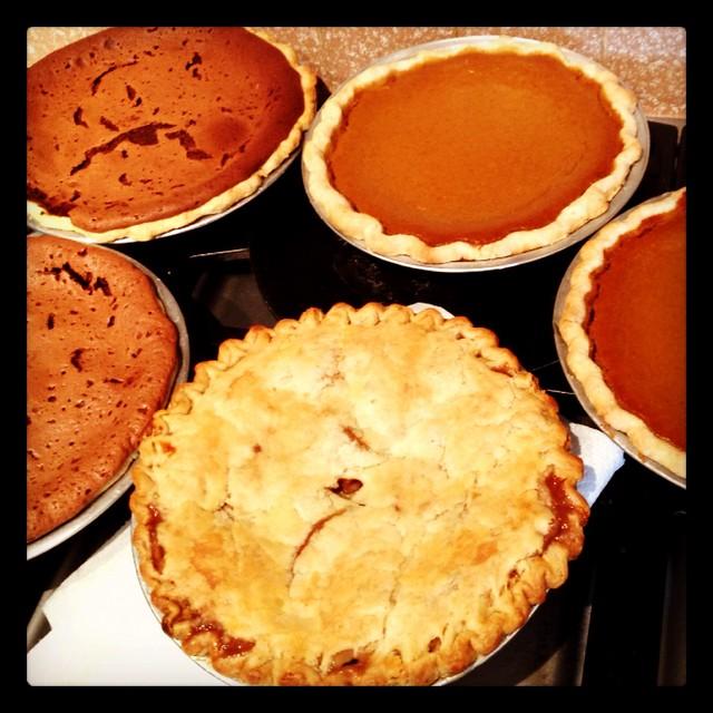 Five Pies