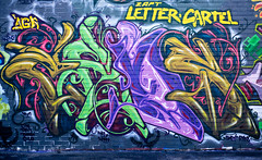 Houston Graffiti Art | Cens | Midtown