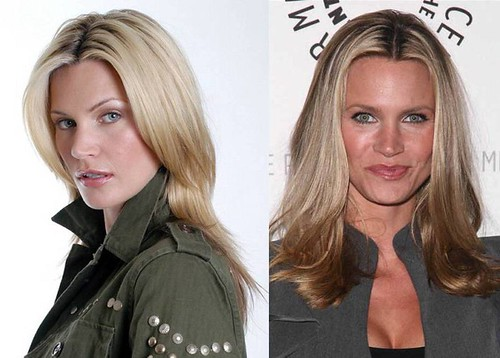 Natasha-Henstridge-melena-larga-lisa