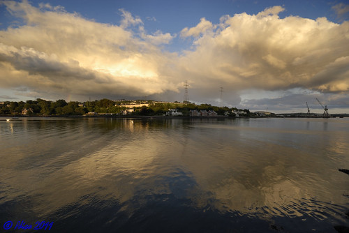 Clouds above Cobh