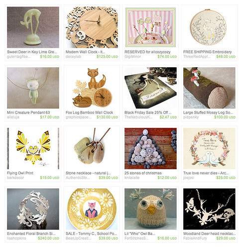 Friday inspiration: etsy treasury
