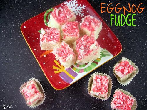 eggnog fudge 1