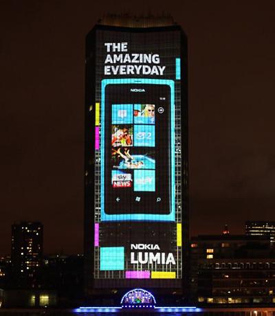 Nokia倫敦光影秀[v]