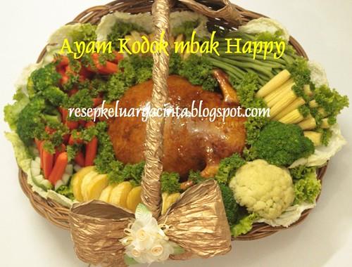 Ayam Kodok mbak Happy