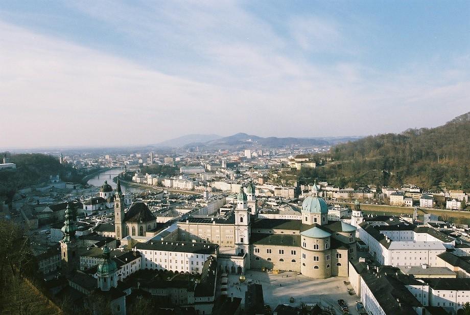 從 Festung Hohensalzburg 俯瞰薩爾茲堡