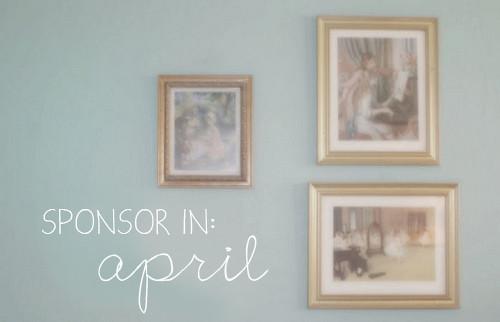 Sponsor in April