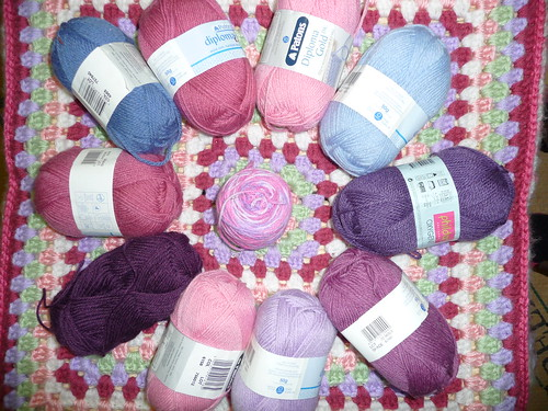 Coxabey (RAV) Your 'donated yarn and Squares' have arrived today! Thank you!