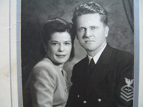 Wedding photo of Jean and Harold Smyre