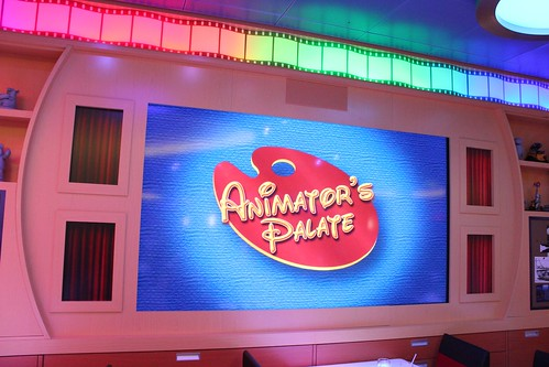 Animator's Palate restaurant