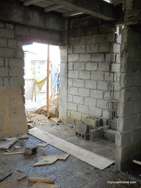 My Nuvali Home Construction Sept8,2011 (8)