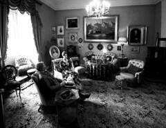livingroom in a castle