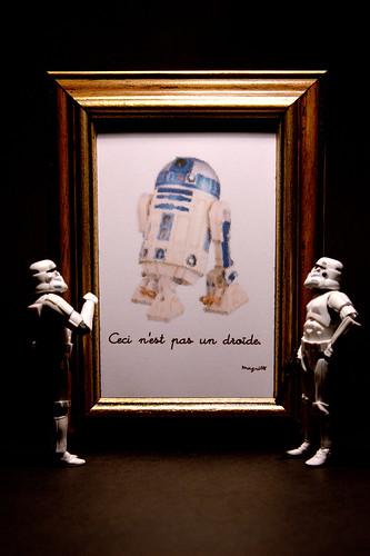 Ceci n'est pas un droïde
