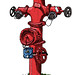 Myall Road Fire Hydrant by Trevor Dickinson