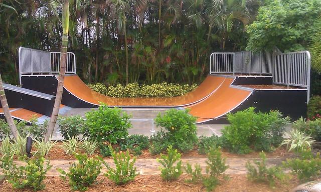 delray florida backyard skatepark explore american ramp c