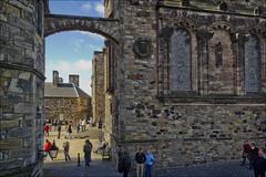Entrance to Crown Square Edinburgh Castle