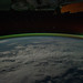 Aurora Australis Over Indian Ocean (NASA, International Space Station, 09/18/11)