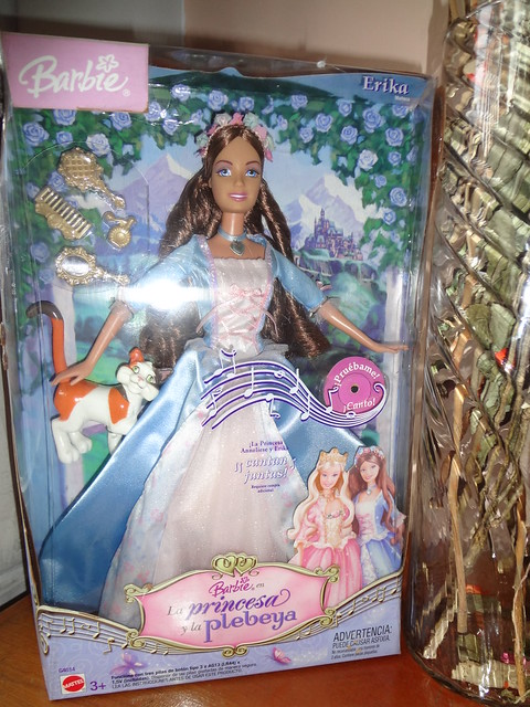 """Barbie as the Princess and the Pauper """"Erika Doll ..."""