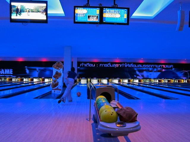 bowling in Bangkok
