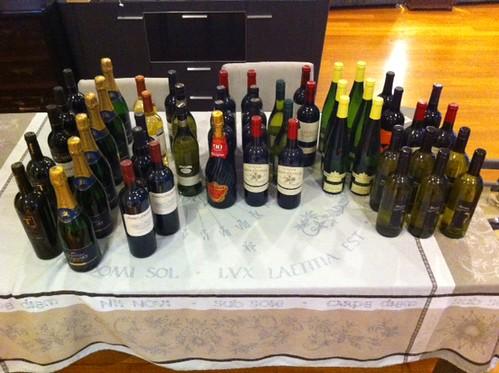 Bought a few bottles of wine :)