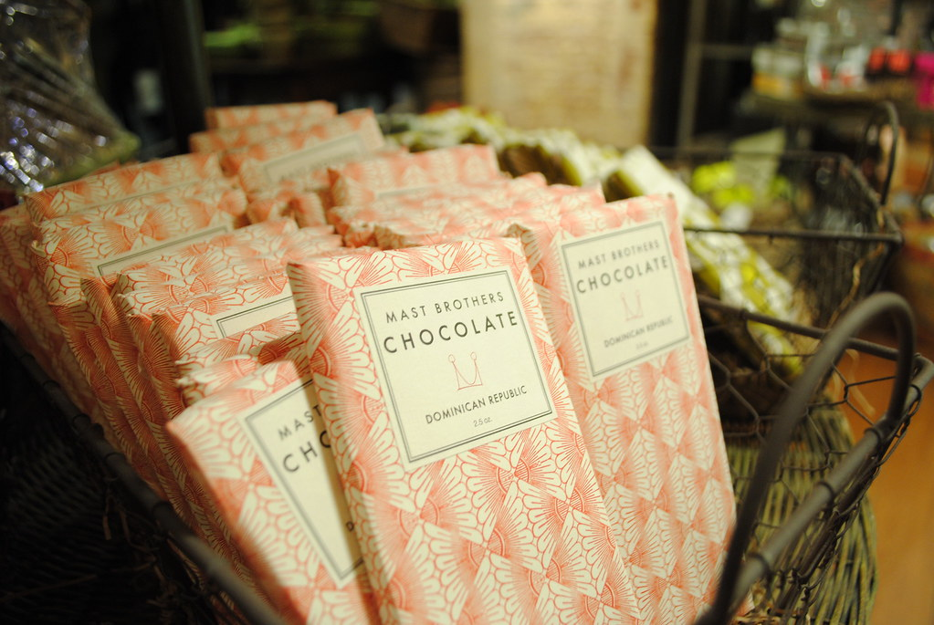 Mast Brothers chocolate at the Chelsea Market