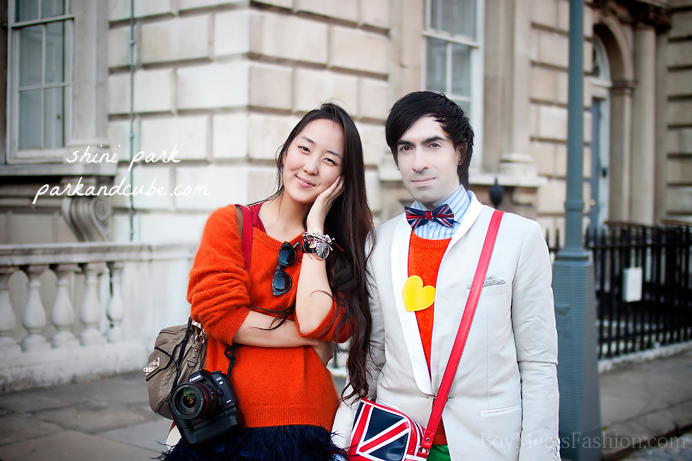 Street Style - London Fashion Week SS12