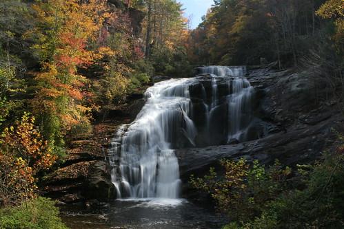 waterfall baldriverfalls cherokeenationalforest img3047