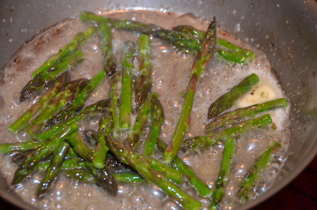 Asparagus Leek Puree