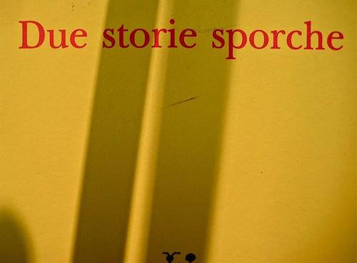 Alan Bennet, Due storie sporche; Adelphi 2011. Cover Illustration ©Peter Campbell; Cover design ©Peter Dyer. Copertina (part.), 3