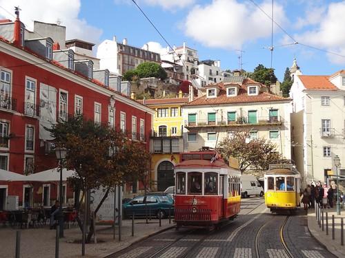Lisboa zona historica