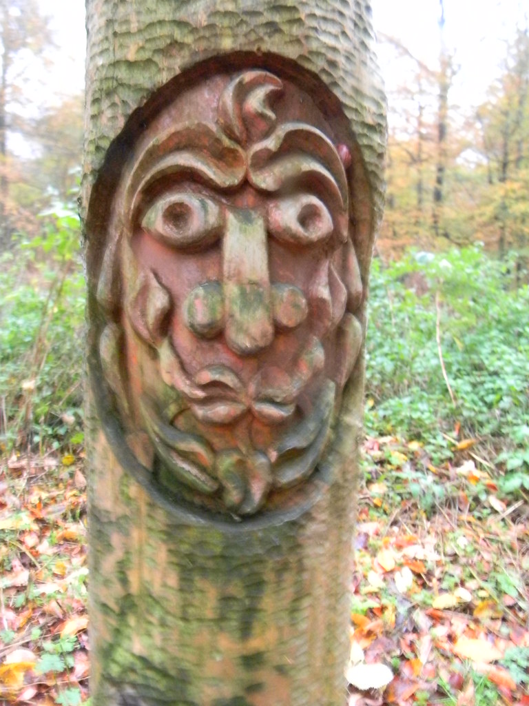 Why the long face? Green man? Princes Risborough to Great Missenden