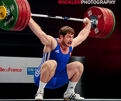 World Weightlifting 2011 category 105kg