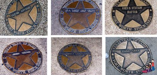 Texas Trail of Fame, Fort Worth Stockyards