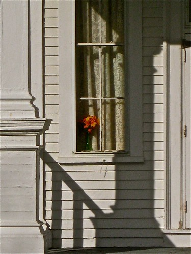 Bouquet in a Window