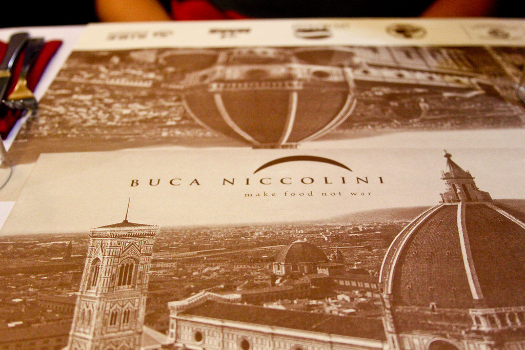 Dinner at Buca Niccolini