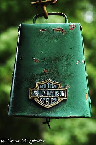 Harley Davidson Custom Cowbell
